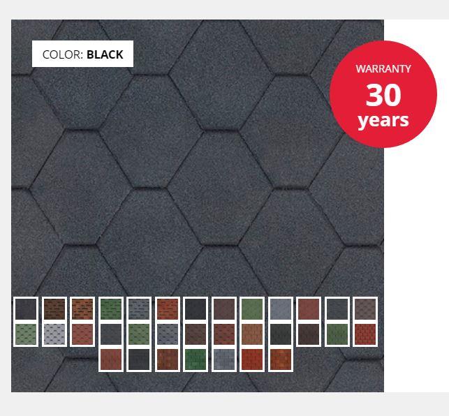 TECHNONICOL SHINGLES CLASSIC Single-Layer Tiles