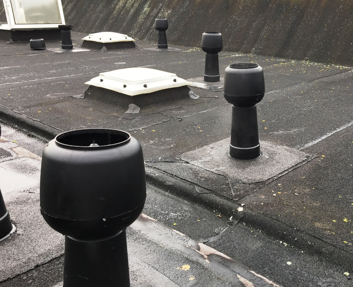 Flat Roof Ventilation Solution In Dublin Design And